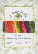 Lecien Crabapple Hill Floss Collection - Summer