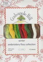 Lecien Crabapple Hill Floss Collection - Winter