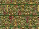 Northcott Stonehenge Holiday Fabric - Geometric Trees