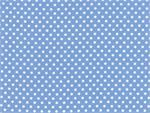 Moda Dottie Small Dots Fabric - Sky Blue
