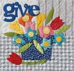 GIVE Quilt Block Kit from the Imagine Series by Nancy Halvorsen