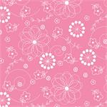 MS Kimberbell Basics Fabric - Pink Doodles