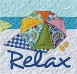 RELAX Quilt Block Kit from the Imagine Series by Nancy Halvorsen