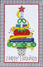 Amy Bradley Holiday Sewing Tree Pattern
