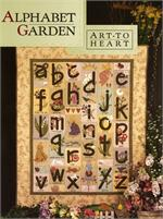 Alphabet Garden Book by Nancy Halvorsen