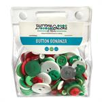 Christmas Button Embellishment Set