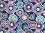 Anthology BeColourful Circlelicious Fabric - Violet