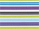 Anthology Stripe Fabric - Purple