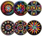 Circle of Life 9 Magnet Set by Jacqueline de Jonge