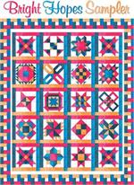 Bright Hopes Sampler Full Color Pattern Set