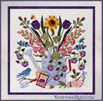 Bountiful Garden Quilt Kit - Includes Pre-cut & Pre-fused Appliqués!