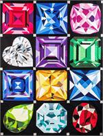 Birthstones Jewel Box Quilt - Gemstone Quilt Kits