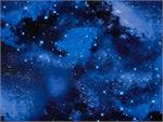 Timeless Treasures Solar System Galaxy Fabric - Blue Space