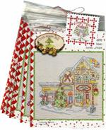 Gingerbread Square Pattern Set