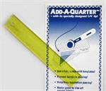 Add-a-Quarter Ruler, 12 inch