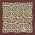 Neopolitan Swirl *Finishing* Quilt Kit for Patchwork Party Blocks 2015-16