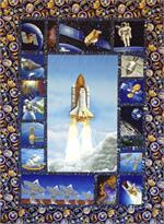 50th Anniversary of Man on the Moon Quilt Kit