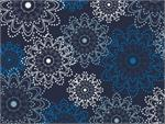 Art Gallery Essentials Fabrics - Indigo Sparkles