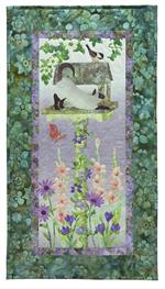 I Spy Quilt Kit - Includes Pre-cut & Pre-fused Appliqués from McKenna Ryan Wind in the Whiskers Series