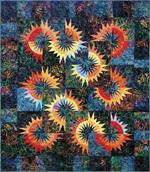 Sunflower Illusions Quilt Pattern