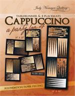 Cappuccino Tablerunner & 4 Placemats Pattern