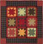 Homespun Stars Wallhanging Quilt Kit