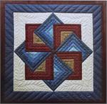 Star Spin Wallhanging Quilt Kit