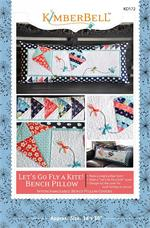Kimberbell March Let's Go Fly a Kite Bench Pillow Sewing PATTERN