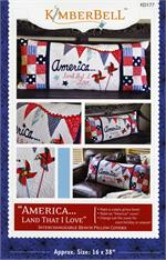 Kimberbell July America Bench Pillow Sewing PATTERN