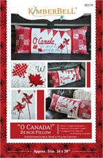 Kimberbell Bench Pillow PATTERN - Oh Canada