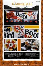 Kimberbell October Halloween Boo Bench Pillow Sewing PATTERN