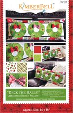 Kimberbell Bench Pillow PATTERN - December Deck the Halls