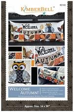 Kimberbell September Welcome Autumn Bench Pillow Sewing PATTERN