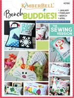 Kimberbell Bench Buddy Series SEWING PATTERN - JAN-FEB-MAR-APR