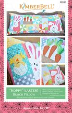 Hoppy Easter - Kimberbell Bench Pillow Pattern - Sewing Version