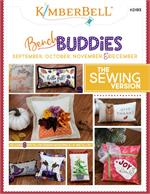 Kimberbell Bench Buddy Series Machine SEWING PATTERN - SEPT-OCT-NOV-DEC