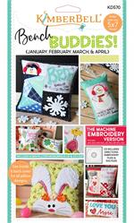 Kimberbell Bench Buddy Series Machine EMBROIDERY CD - JAN-FEB-MAR-APR