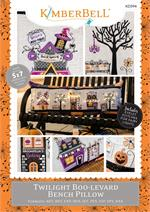 Kimberbell Twilight Boo-levard Bench Pillow - MACHINE EMBROIDERY CD