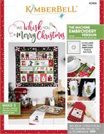 Kimberbell MACHINE EMBROIDERY CD-ROM - We Whisk You a Merry Christmas