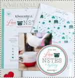 Kimberbell Love Notes Pattern - MACHINE EMBROIDERY CD VERSION
