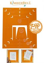 Kimberbell Orange Pop Rulers Set - RECTANGLE