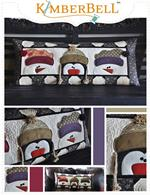 Kimberbell Bench Pillow Kit - Whimsy Winter - January - Pre-cut & Pre-fused Appliques!