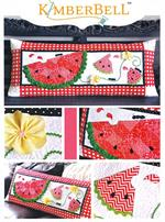 June Slice of Summer Kimberbell Bench Pillow Kit - Pre-cut & Pre-fused Appliques!