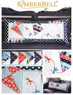 Kimberbell Bench Pillow Kit - Let's Go Fly A Kite - March - Pre-cut & Pre-fused Appliques!