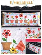 Kimberbell Bench Pillow Kit - May Flowers - May - Pre-cut & Pre-fused Appliques!