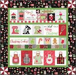 Kimberbell We Whisk You a Merry Christmas Quilt Kit