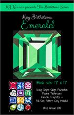 MJ Birthstone PATTERN Series - MAY Emerald