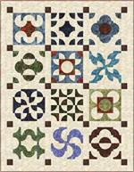 Stone Pathways Quilt PRE-CUT Quilt Kit