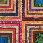 Moda Color Splash Batik Fat Quarter Collection
