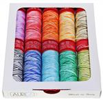 Aurifil Prism Thread Collection by Michele Scott - Lovely Rainbow Varigation